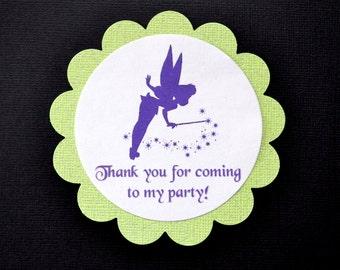 Tinkerbell Fairy Favor Tags (8)