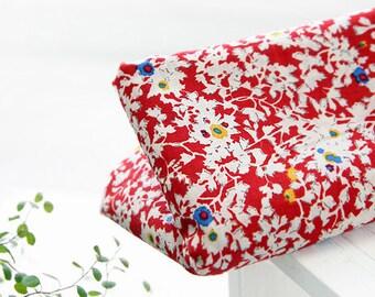 Nancy Floral Red ASSA Cotton, U7161