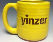 Yinzer Pittsburgh Pottery Mug