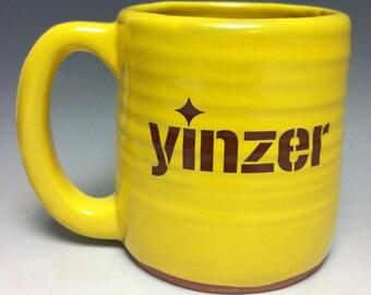 Yinzer Pittsburgh Pottery Mug