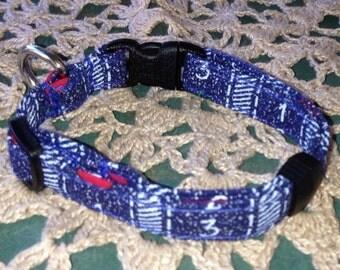 X Small Teacher Dog Collar