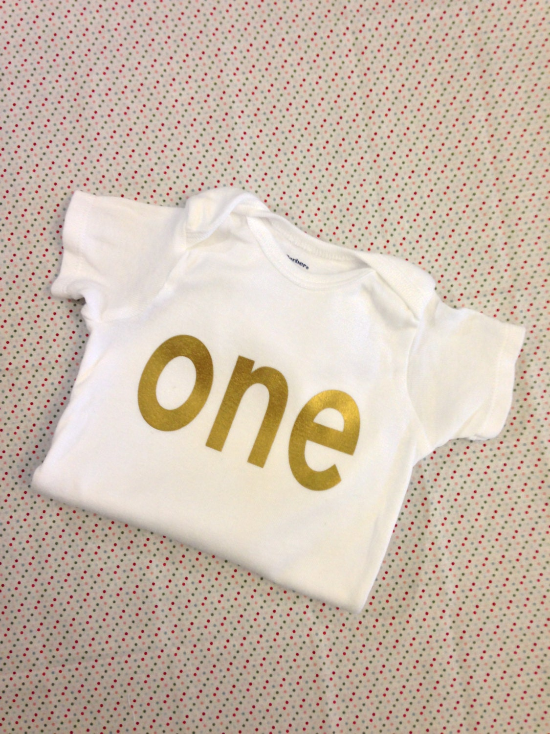 gold iron on vinyl one lettering for yearly monthly or birthday onesie lettering only