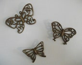 Set of 3 Homco Butterflies You Choose the colors