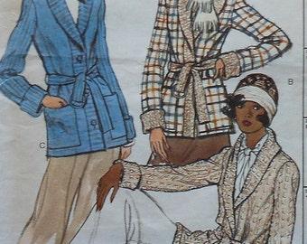 Vintage Vogue Jacket Sewing Pattern UNCUT 8794 Size 14 retro 70s