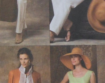Jacket, Top, Skirt, and Pants Sewing Pattern UNCUT Vogue V8209 Sizes 14-18