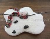 Melting Snowman Tree Ornament