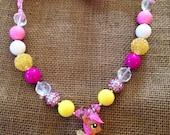 My Little Pony Fluttershy- Valentine Sparkle Necklace