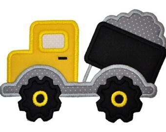 Dump Truck Construction Applique
