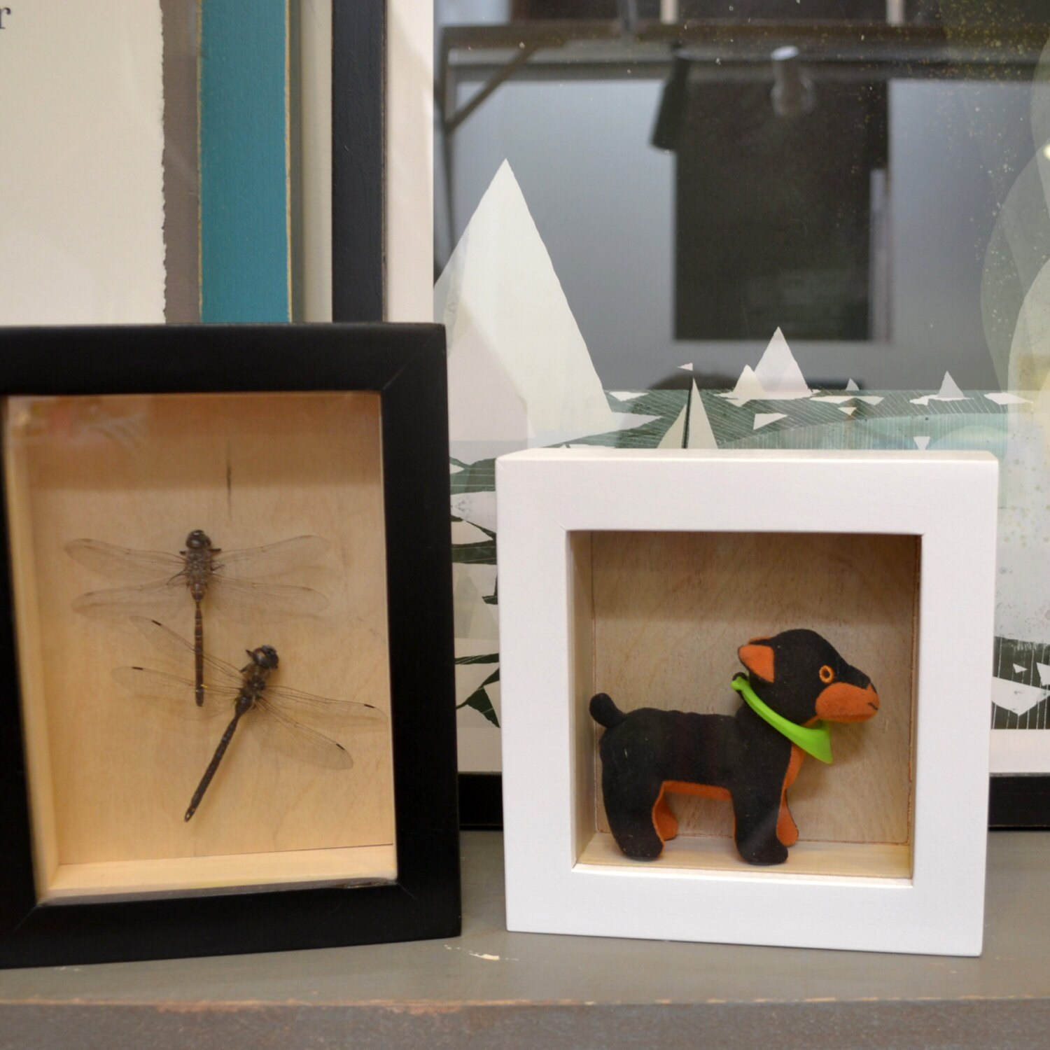 Handmade Small Shadow Box Frame Holds Up To 4 X 6 X 1 25