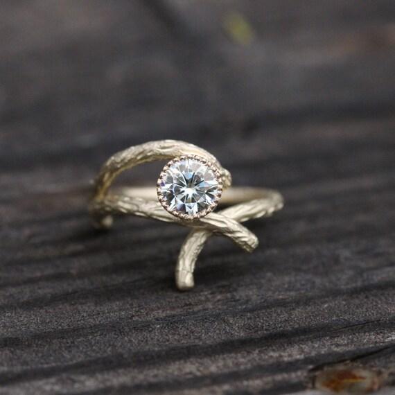 branch wedding rings - photo #9