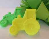 John Deere - Tractor Party Favors  -- (10)  Birthday Party Favors -  Handcrafted  Soap