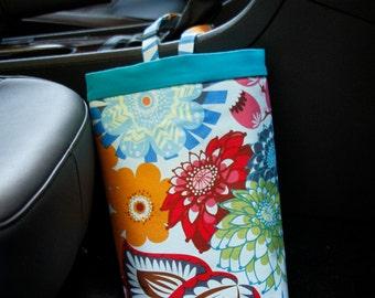 Car Trash Bag ANNA MARIA HORNER LouLouThi Blue, Women, Car Litter Bag, Car Accessories, Auto Bag, Car Caddy, Auto Bag