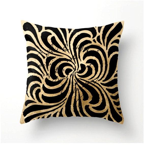 items similar to decorative throw pillow swirly lines. Black Bedroom Furniture Sets. Home Design Ideas