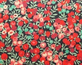 Liberty tana lawn printed in Japan - Wiltshire  - Red mix