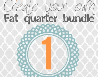 Create Your Own Fat Quarter - Poppyseed Fabric Special Pick 1 Fat Quarter