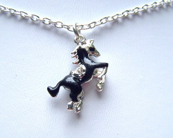 Childrens Jewelry Horse Necklace Girls Horse Jewelry Girls Necklace