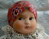 Vintage Czechoslovakia Czech Collectible Doll Gypsy Fortune Teller