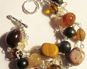 Gemstone bracelet for healing and protection
