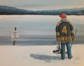 Thin Ice - Bobby - Print