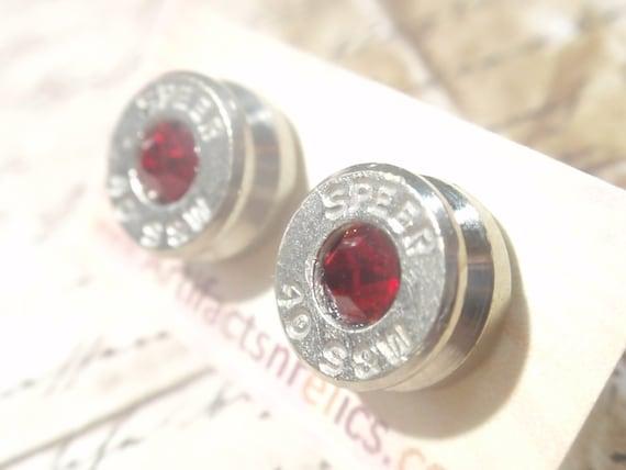 40 claiber speer bullet earrings jewelry 40 caliber