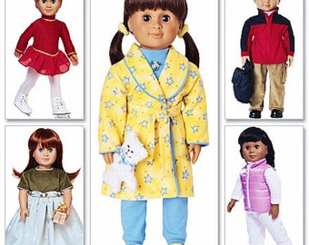 18 inch Doll Clothes Pattern, Boy Doll Clothes, Doll Dress Pattern, Butterick Sewing Pattern 3329