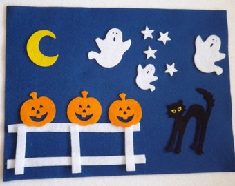 Halloween Felt Board Set