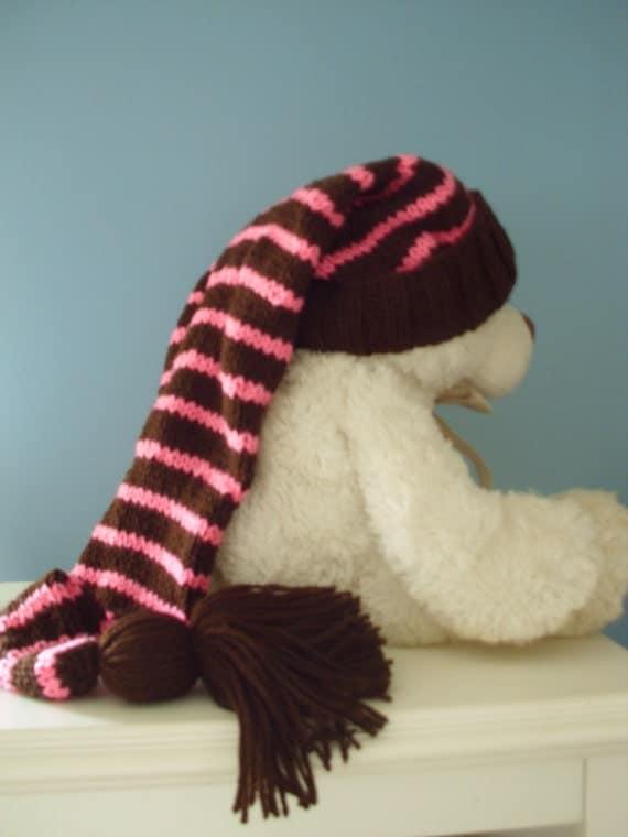 Long Knit Stocking Cap 115