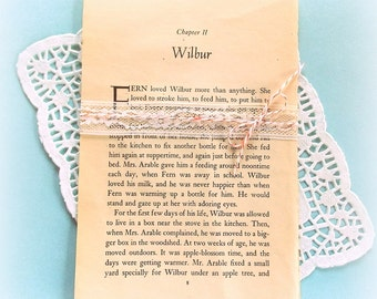 Bundle of Vintage Charlotte's Web Book Pages