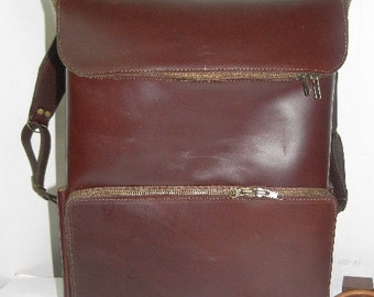 simply COOL medium brown oiled cowhide backpack FREE SHIPPING
