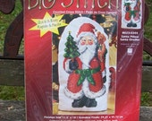 Needlepoint Kit Santa Claus Pillow