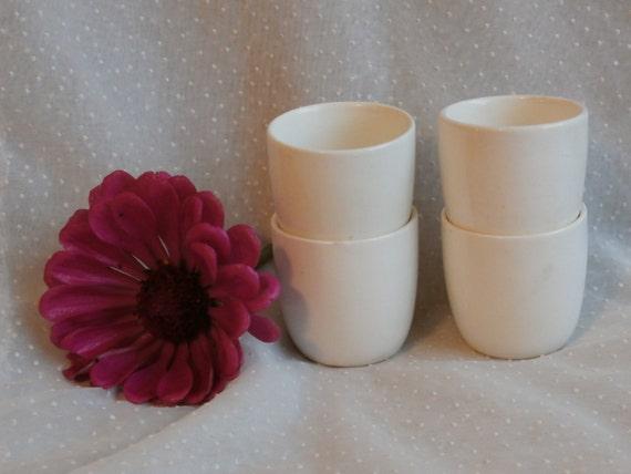 Wedgwood Barlaston Single Egg Cups or Small Cups Make Nice Tiny Vases