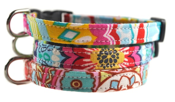Cat Collar - Your Choice of Fabric and Size