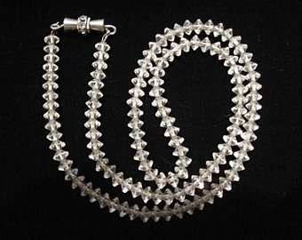 Austrian Crystal Necklace c1950