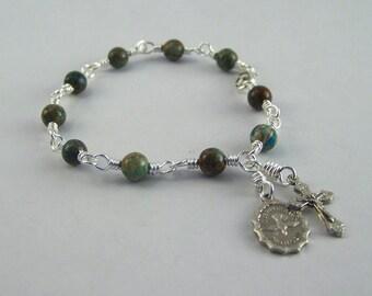 Holy Spirit Rosary Bracelet