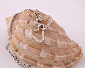 Two Hearts FS Cascading Necklace