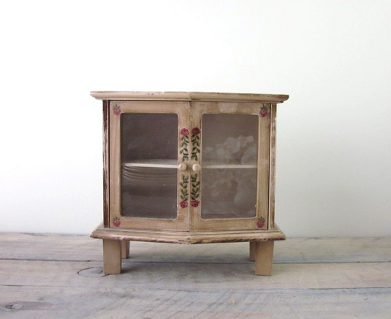 creative wood curio cabinet with glass doors 5