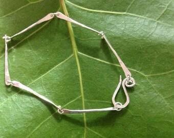 Sterling Silver Dog Bone Bracelet