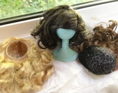 Liv doll wigs set of 3 for OOAK painters of Monster High or Liv dolls