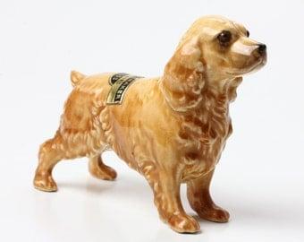 Hagen Renaker Dog - His Nibs the Cocker Spaniel Ceramic Figurine