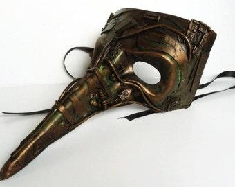 steampunk  mask, venetian mask