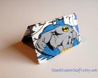 Card Wallet - Batman - credit card holder,  business card wallet, gift card holder,