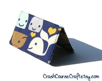 Business card holder, credit card wallet, gift card holder - Whale's Best Friend