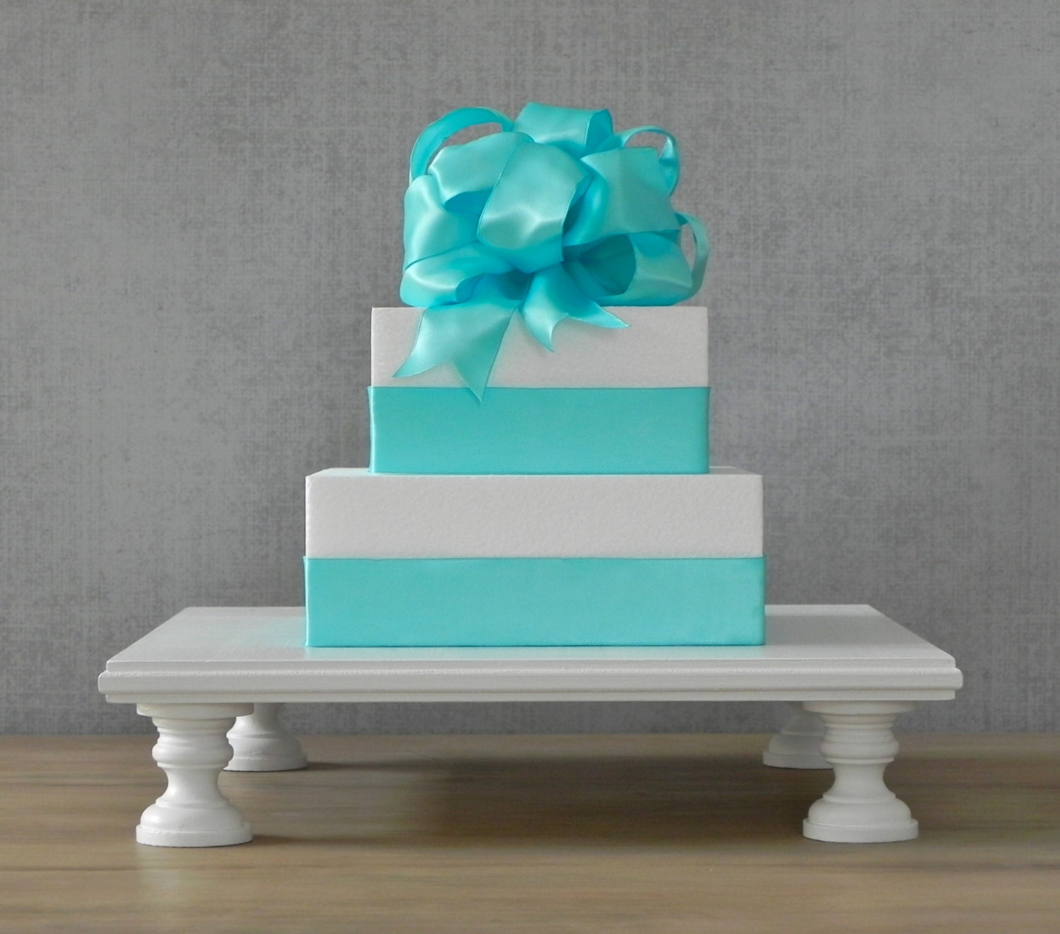 12 ANY COLOR Cake Stand Square White Wedding by