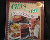 Gifts From A Jar Book Soups Chili and More Recipe Cook Book for Mason Jars New Book