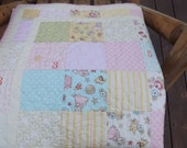 Vintage Baby Girl Quilt