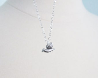 Free as a bird necklace on sterling silver chain SALE