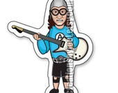 Aquabats Super Show Eaglebones Falconhawk Magnet