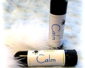 CALM Aromatherapy - anxiety inhaler diffuser - natural botanicals - aroma therapy by Bonny Bubbles