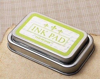 Classic Oil-Based Ink Pad - Lime (3.6 x 2.3in)