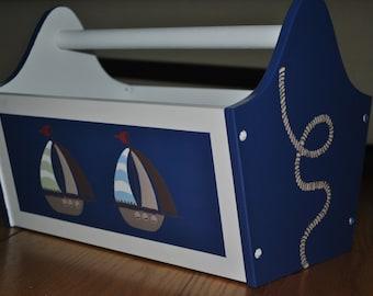 Book Caddy - Ahoy Mate